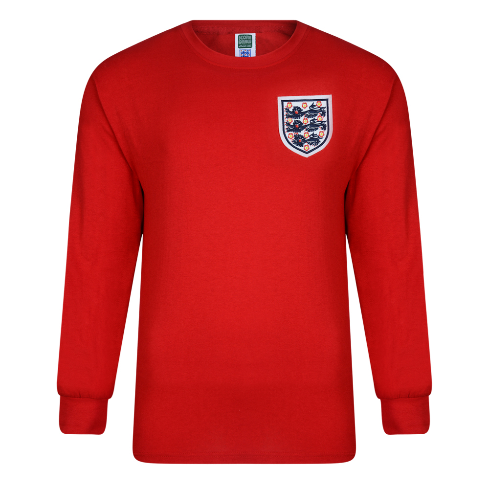 Buy England 1966 World Cup Final No 6 Shirt from Score Draw 5d2f34fda