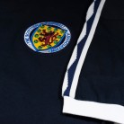 Close up of badge of Scotland 1978 shirt