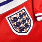 England 1982 Away badge and sleeve