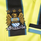 Manchester City 1999 Away shirt badge and sleeve
