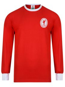 5ed5d4026 Liverpool FC 1964 Long Sleeve Retro Football Shirt