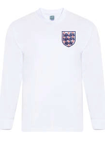 detailed look ce85b e4ded Buy Official Retro England Football Shirts | Score Draw