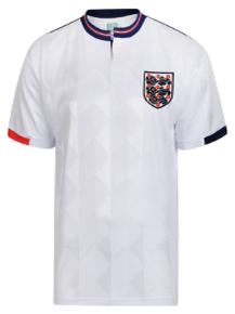 detailed look fc712 6872c Buy Official Retro England Football Shirts | Score Draw
