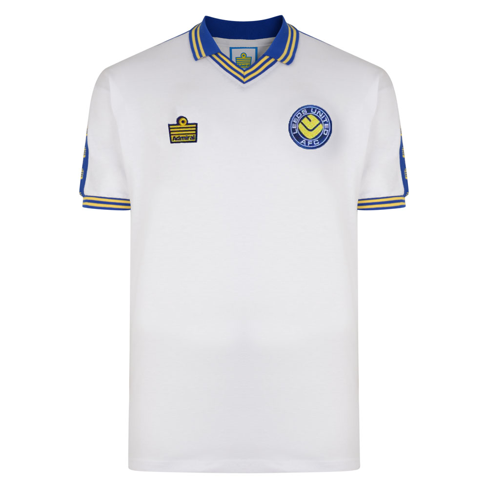 0e34b317d Leeds United 1978 Admiral Retro Football Shirt