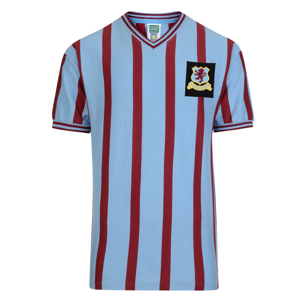 d9c5f5fc Aston Villa 1957 FA Cup Final Retro Football Shirt