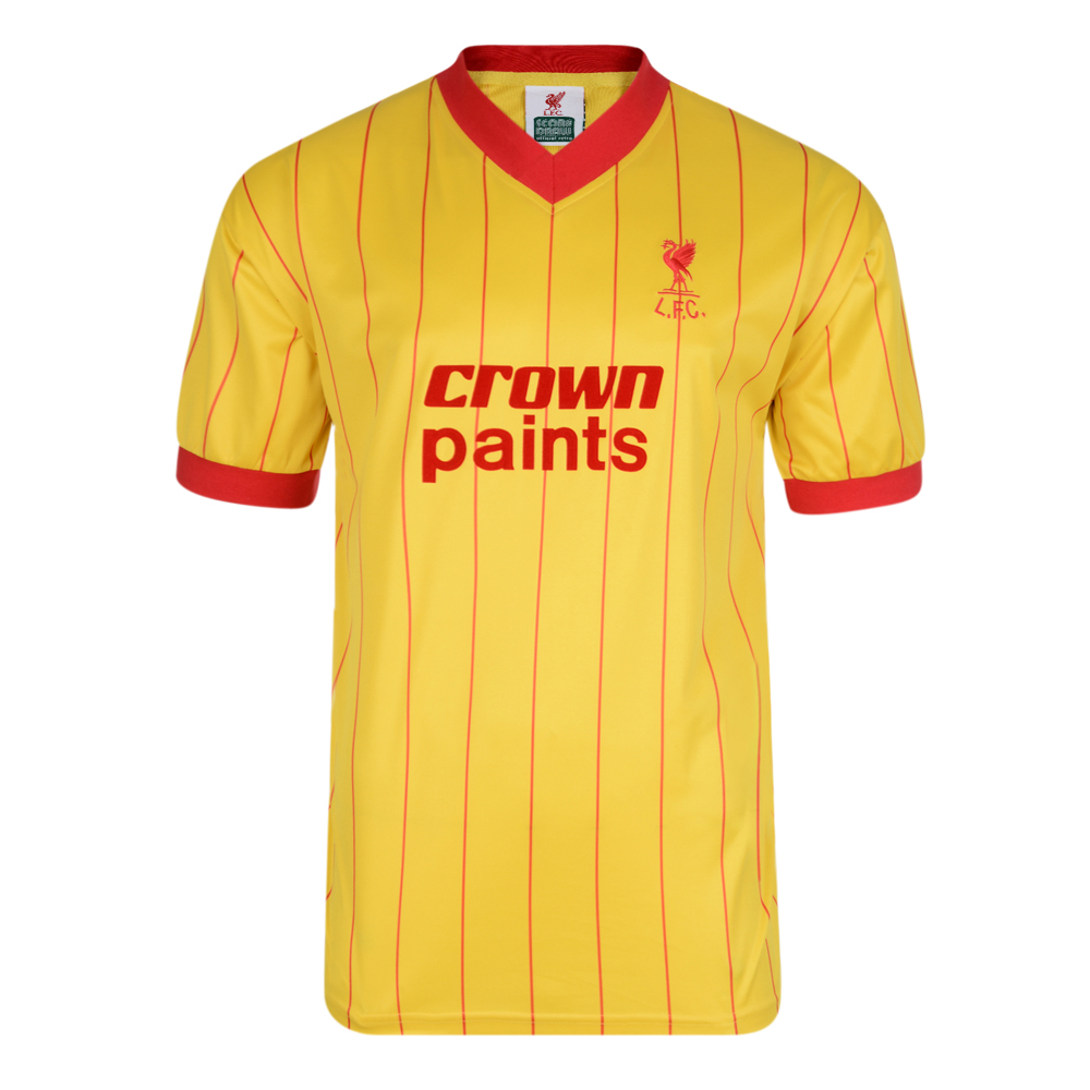 official photos 399f3 d89b9 Liverpool 1982 Away shirt | Liverpool Retro Jersey | Score Draw