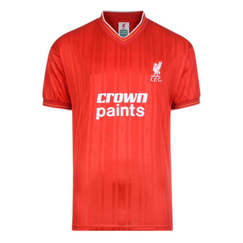 new concept 9d4ec 879da Liverpool 1986 shirt | Liverpool Retro Jersey | Score Draw