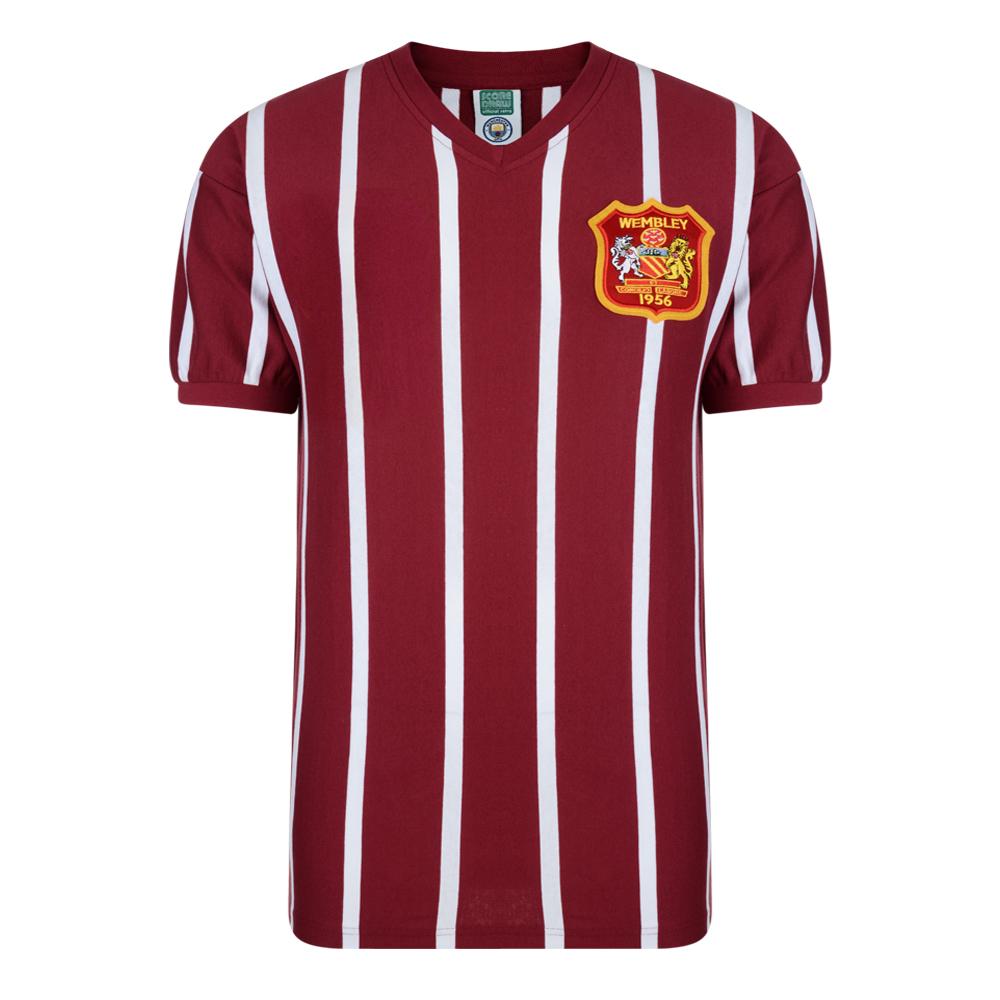 49571a0ccf4 Manchester City 1956 FA Cup Final shirt | Manchester City Retro ...