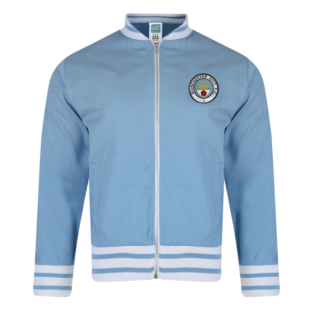 Manchester City 1972 Retro Track Jacket. Loading zoom 8d78138d3