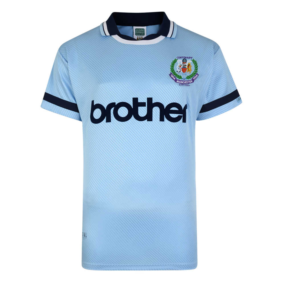 f8eda797a8d Manchester City 1994 Centenary Retro Shirt. Loading zoom