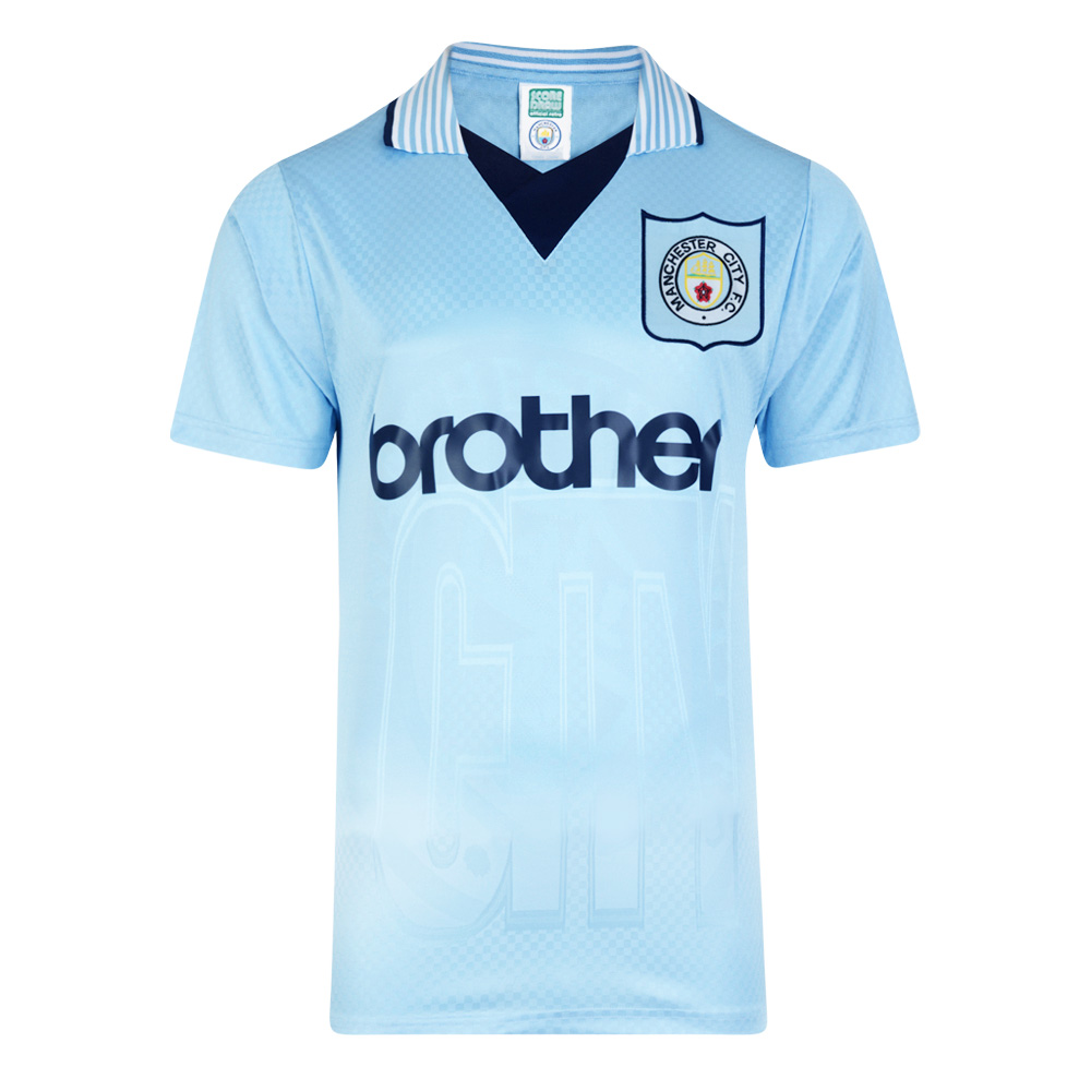 1345bbd201a Manchester City 1996 Retro Football Shirt. Loading zoom