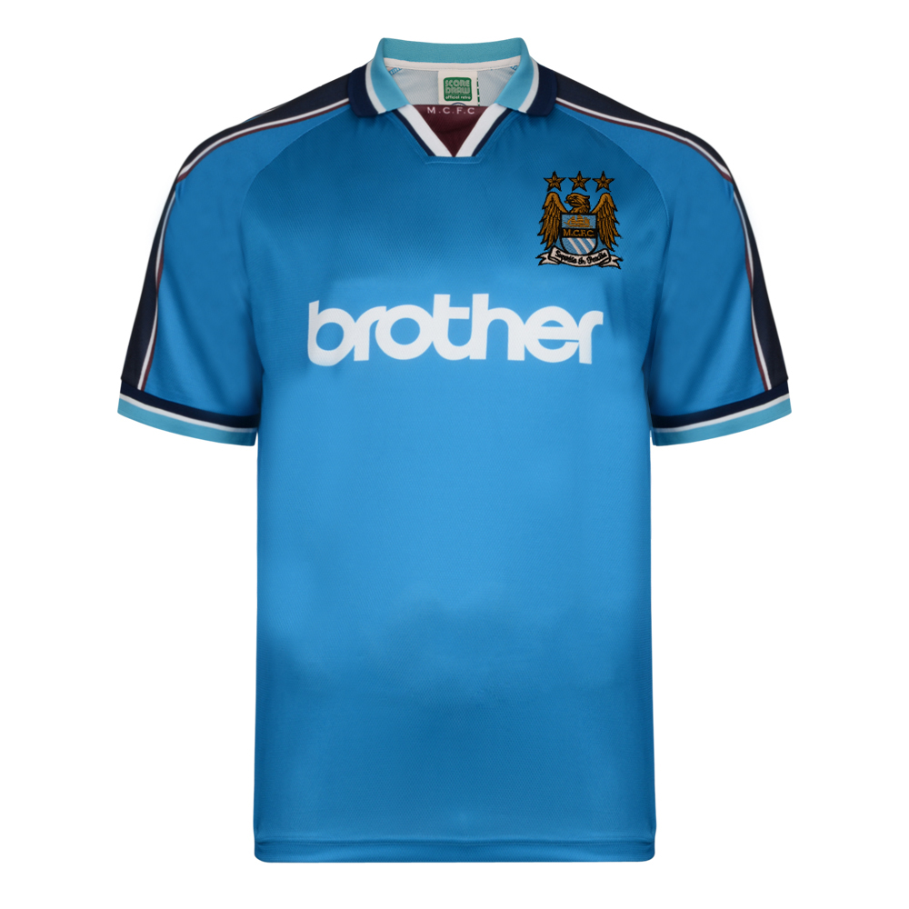 82df0441aad Manchester City 1998 Polyester Retro Shirt