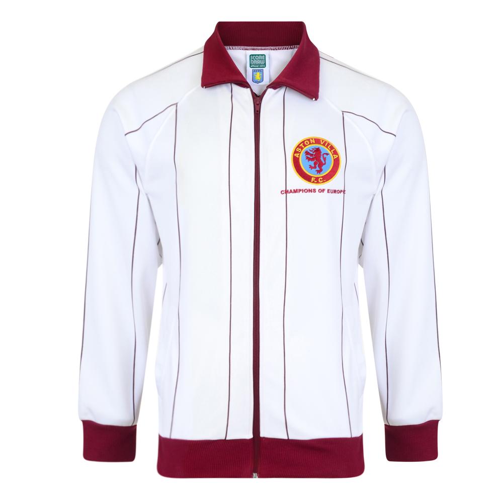 251af5f74 Aston Villa 1982 Away Retro Football Track Jacket. Loading zoom