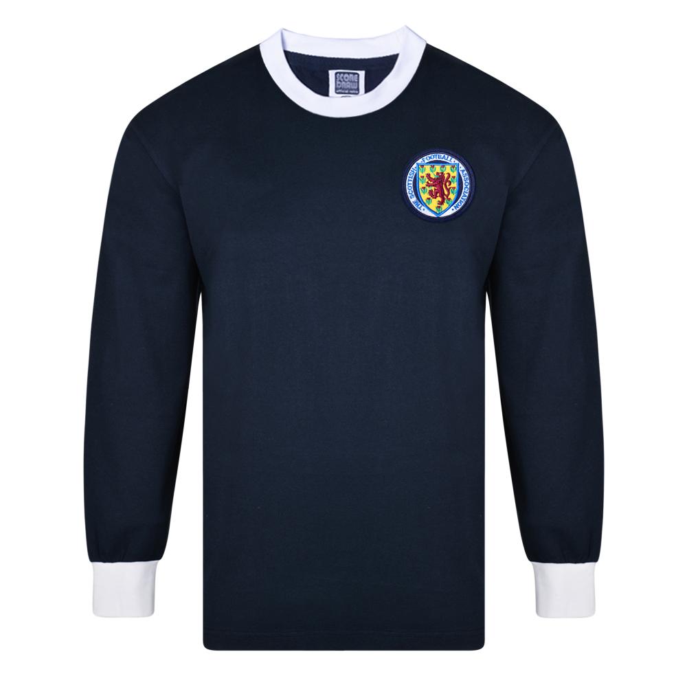 319edd84b34 Scotland 1967 Long Sleeve Retro Football Shirt. Loading zoom