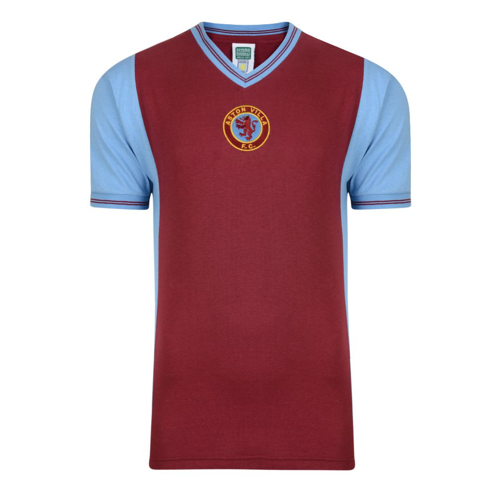 Football Shirt Aston Villa  Retro Football Shirt Aston Villa Fc
