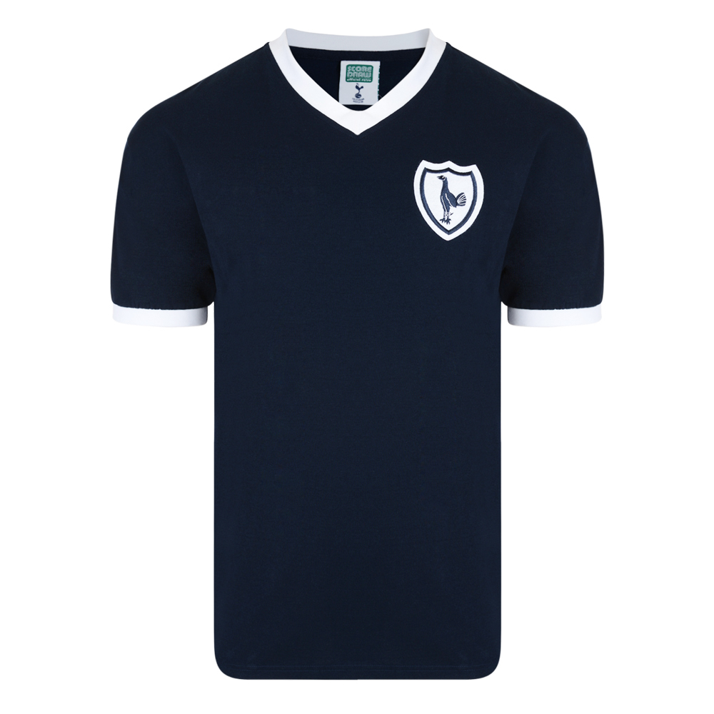94d0bb6cffb Tottenham Hotspur 1962 No8 Away Retro Shirt. Loading zoom