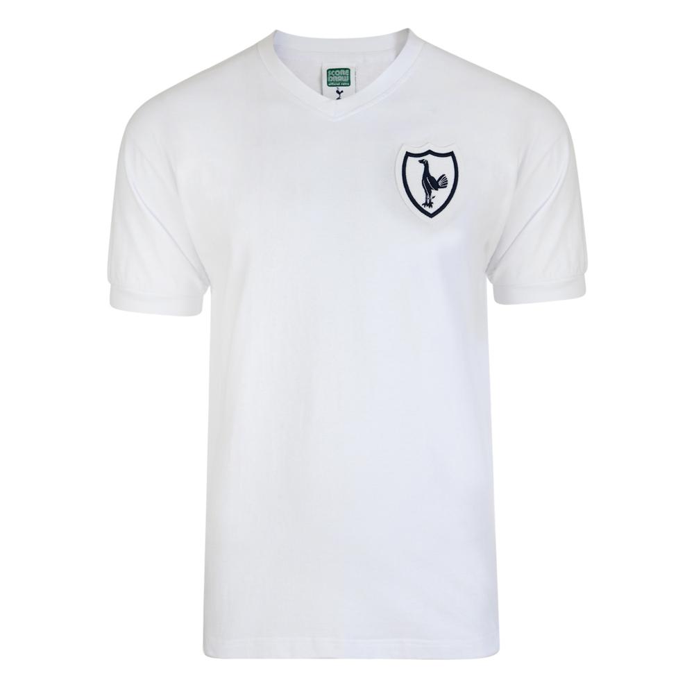 e496625ace9204 Tottenham Hotspur 1962 No8 Retro Football Shirt. Loading zoom