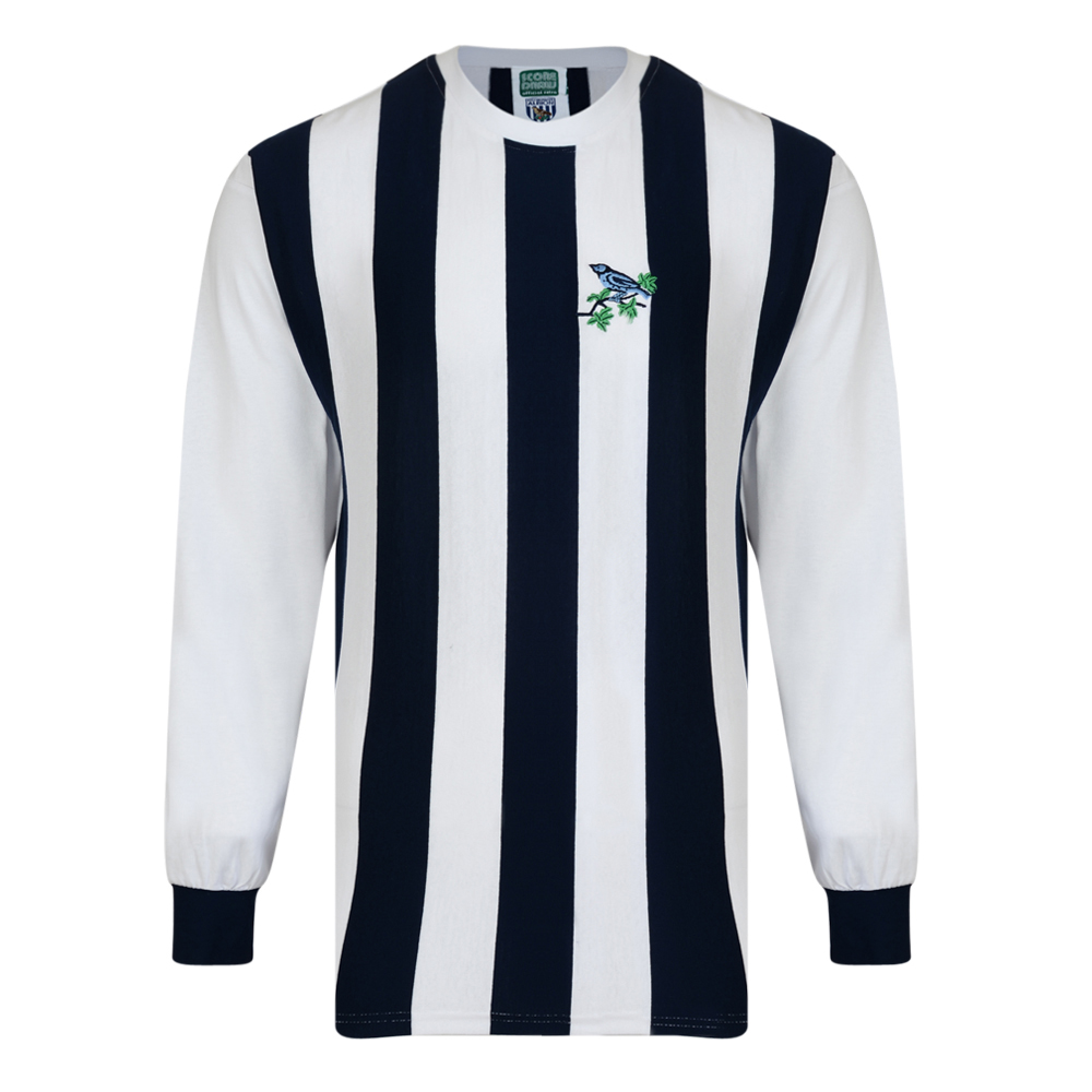 f97096081 West Bromwich Albion 1968 Retro Football Shirt. Loading zoom