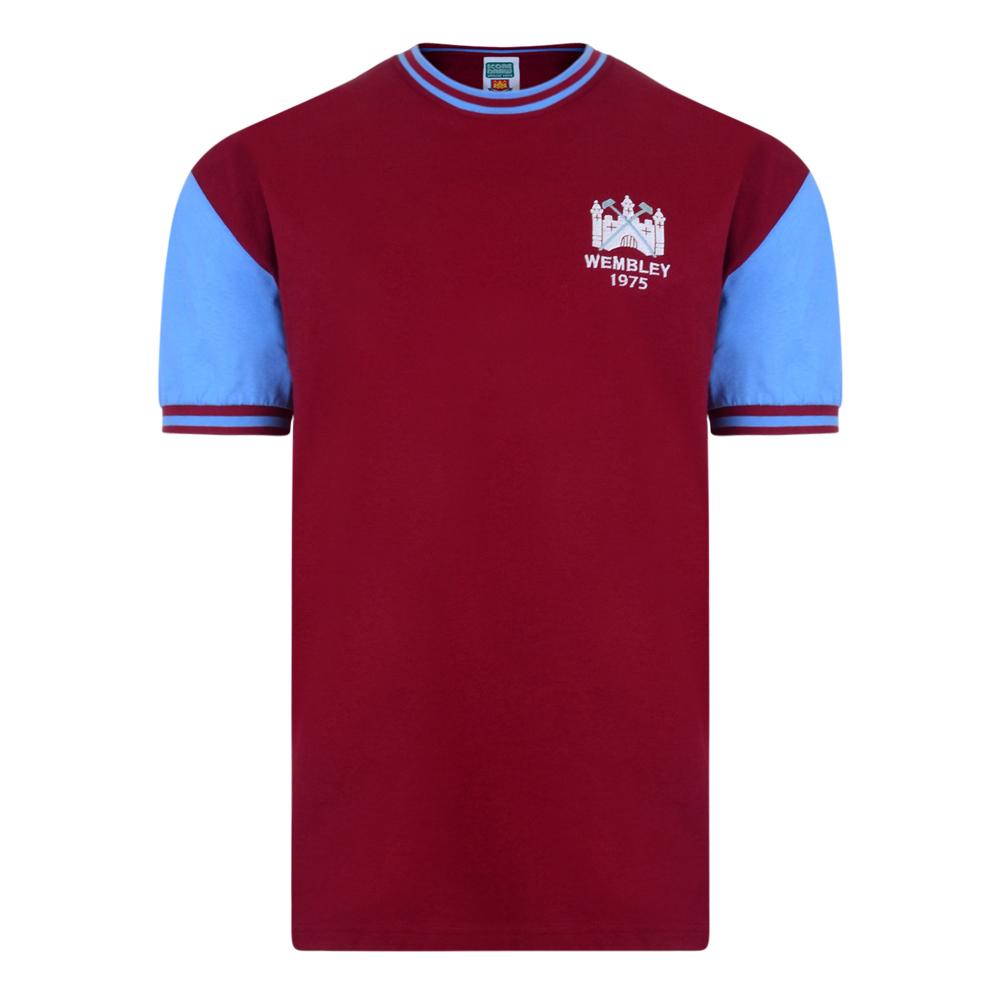 07a9a8fb8ef West Ham United 1975 FA Cup Final No4 shirt | West Ham United Retro Jersey  | Score Draw