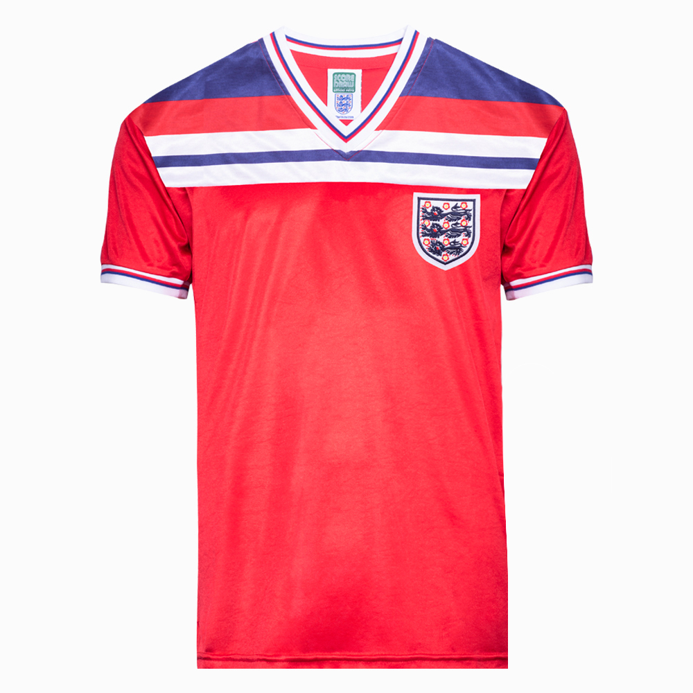6270fd804 England 1982 World Cup Finals Away Retro Shirt. Loading zoom
