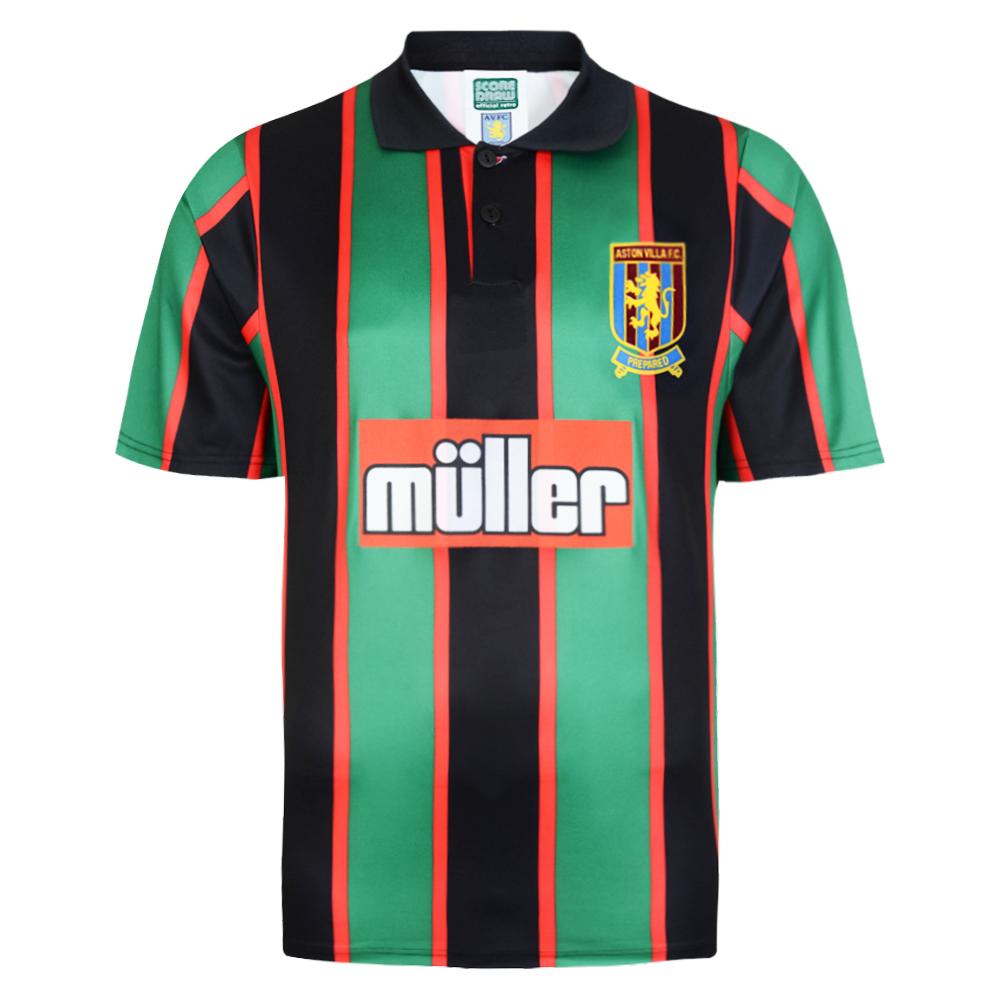 Aston Villa 1994 Away shirt | Aston Villa FC Retro Jersey | Score Draw
