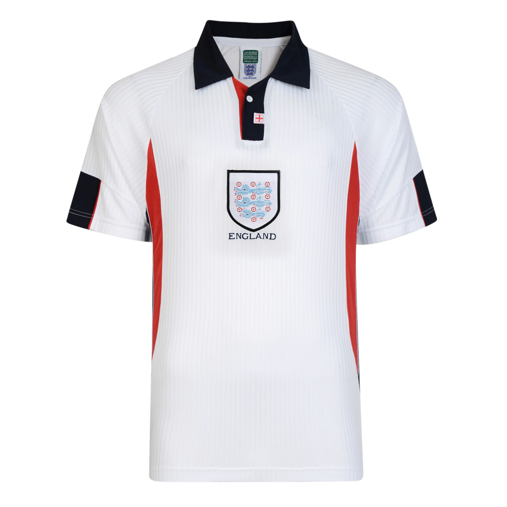d36d35f917a England 1998 World Cup Finals Retro Football Shirt. Loading zoom