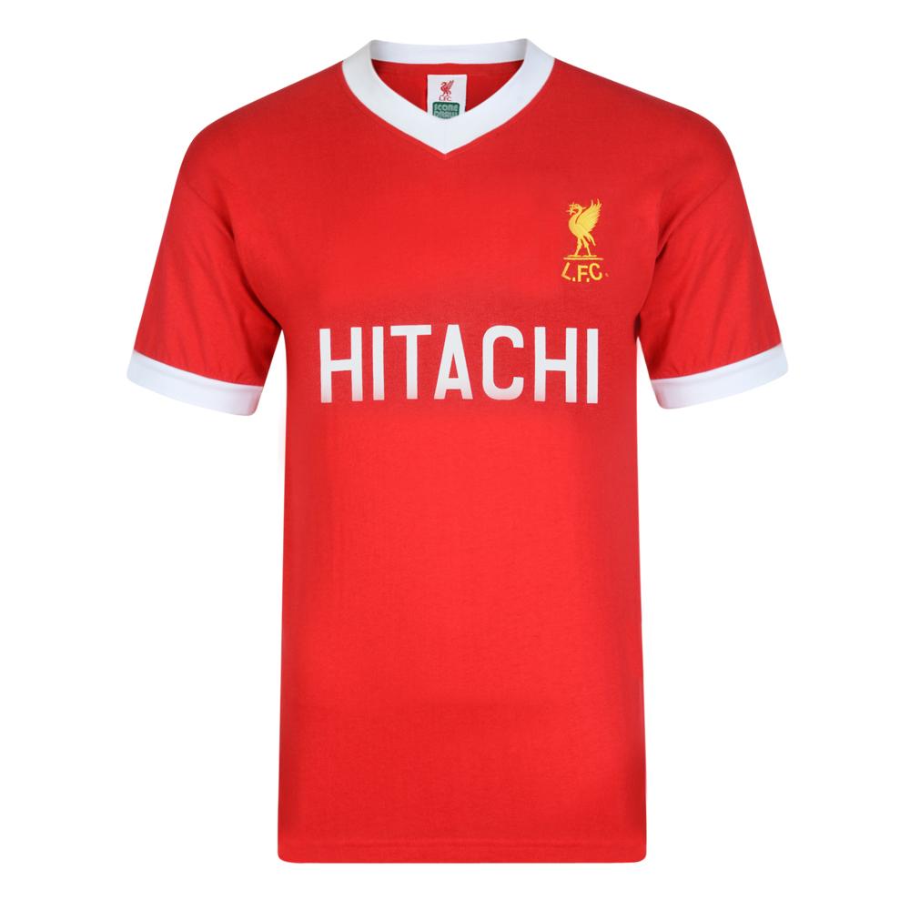Liverpool FC 1978 Hitachi Retro Football Shirt. Loading zoom 883753fe8