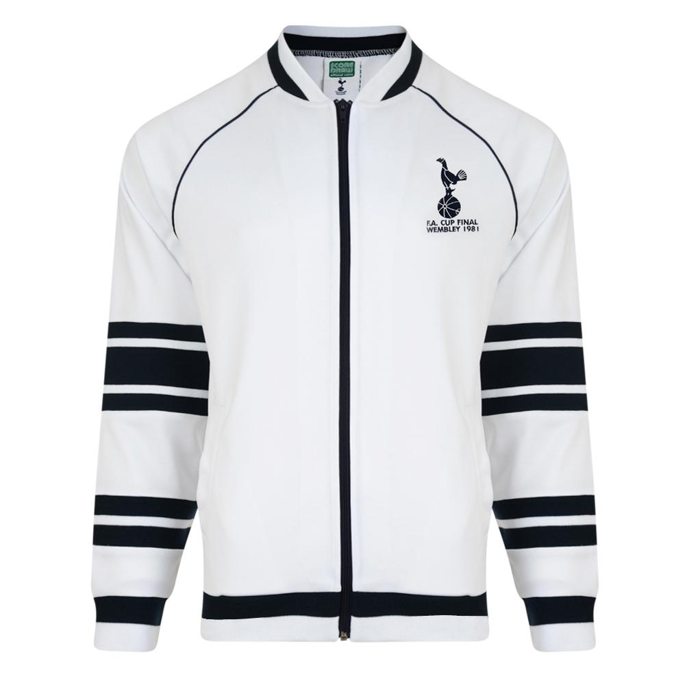 0fb0630e8467 Tottenham Hotspur 1981 FA Cup Final Track Jacket. Loading zoom