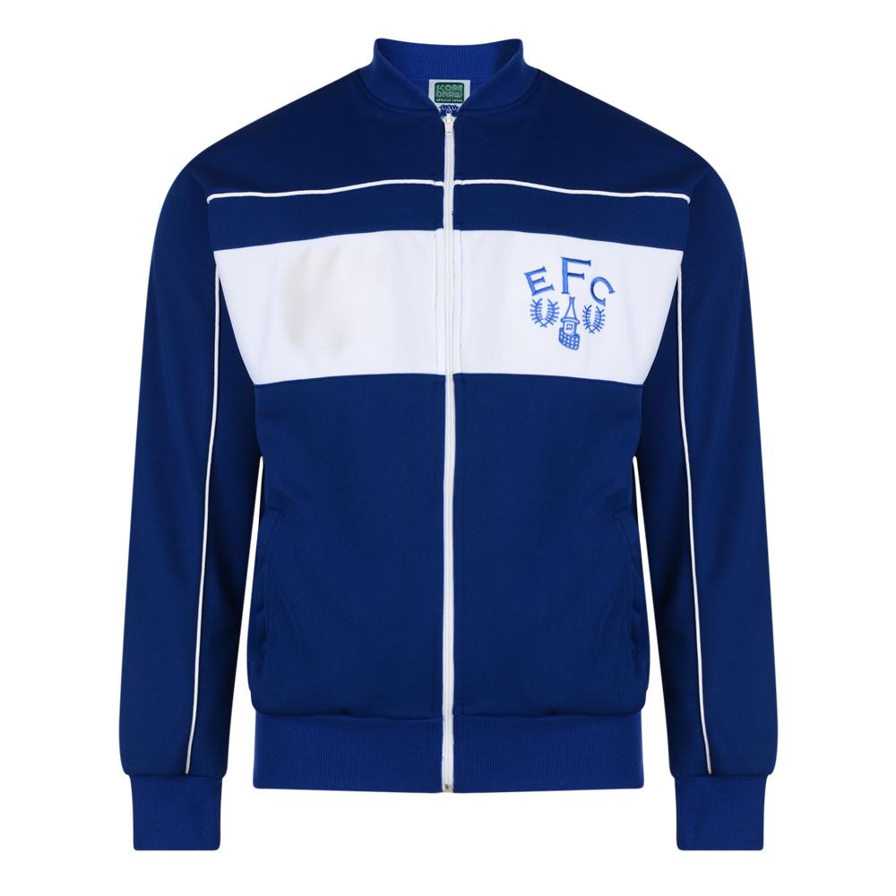 d13d2c339 Everton 1982 Retro Football Track Jacket. Loading zoom