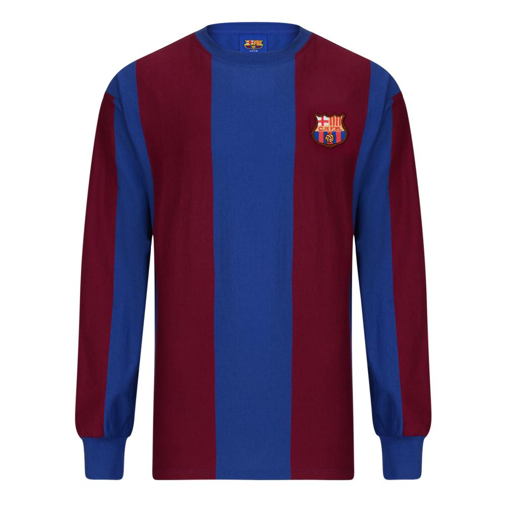 new style dbed7 c0cbd Barcelona 1974 LS shirt | Barcelona Retro Jersey | Score Draw