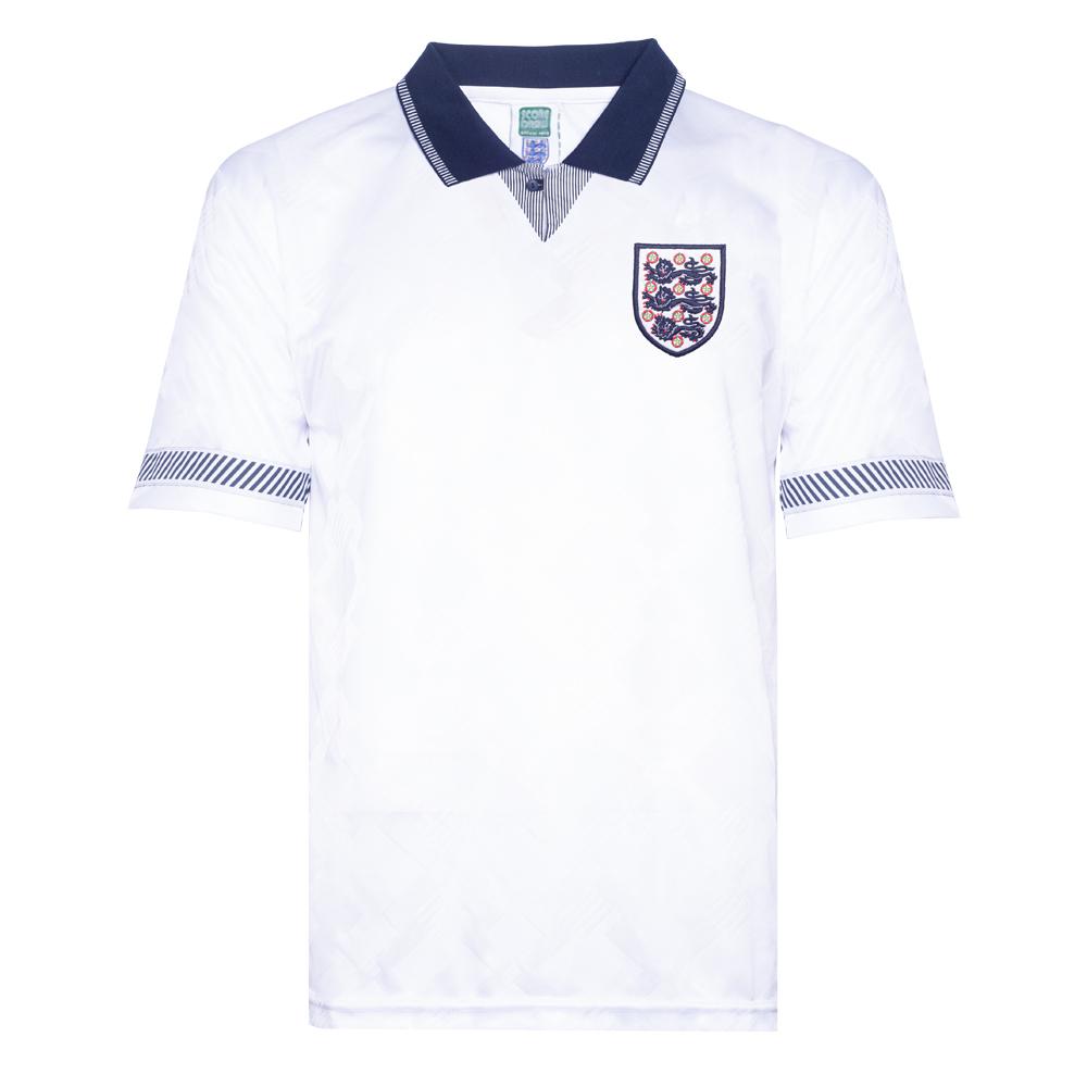 9880dc4c England 1990 World Cup Finals shirt | England Retro Jersey | Score Draw