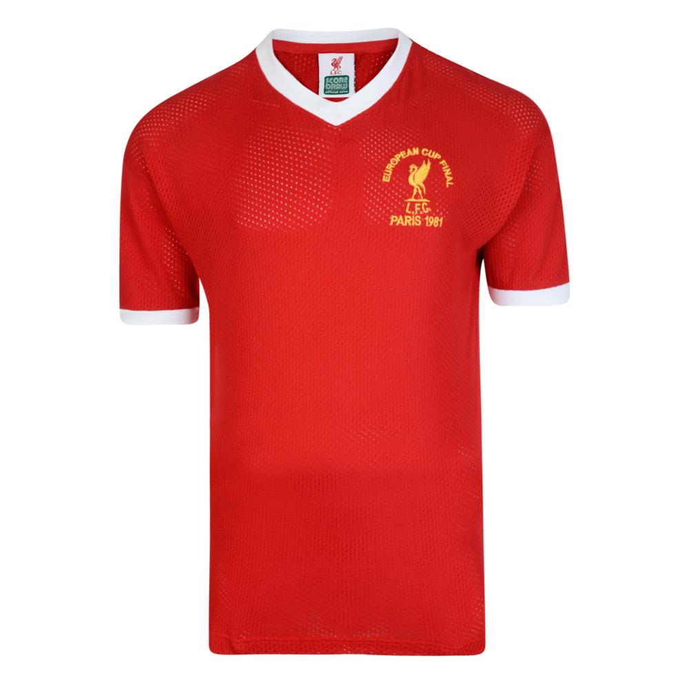 de708d63d71a Liverpool FC 1981 European Cup Final Retro Shirt. Loading zoom