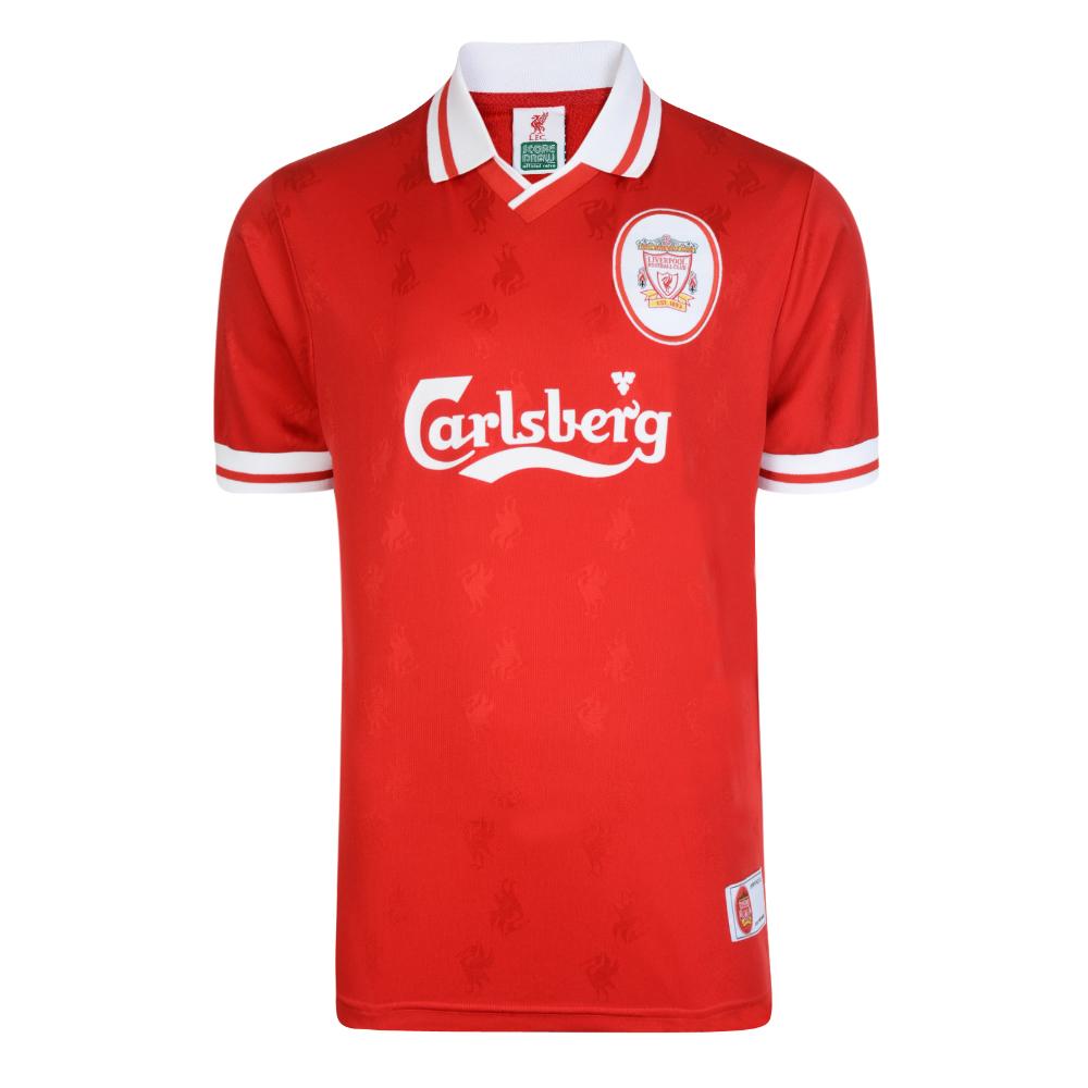 156e0a454ff Liverpool FC 1996 Retro Football Shirt. Loading zoom