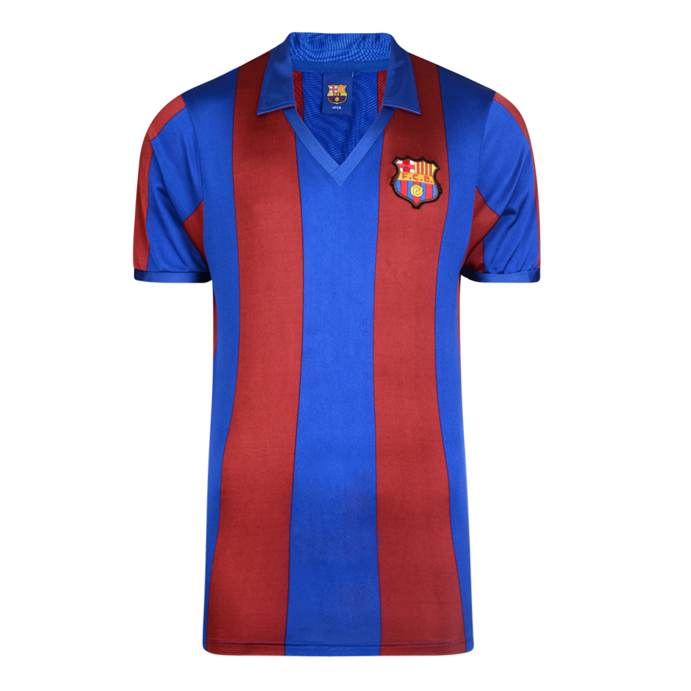 4ef71435211 Barcelona 1982 Retro Football Shirt