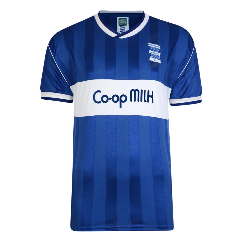 09d50c5cc6c Birmingham City 1986 shirt   Birmingham City Retro Jersey   Score Draw