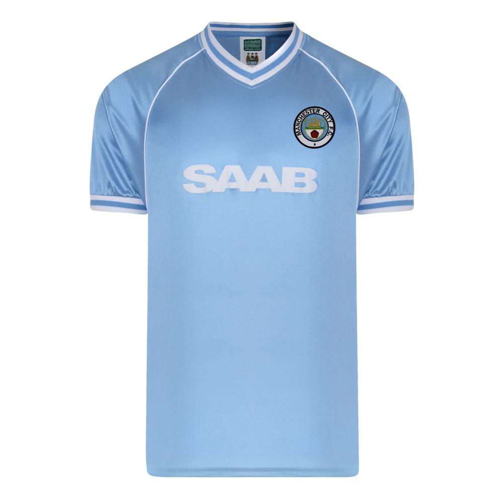 6c3ea81153e1 Manchester City 1982 Retro Football Shirt