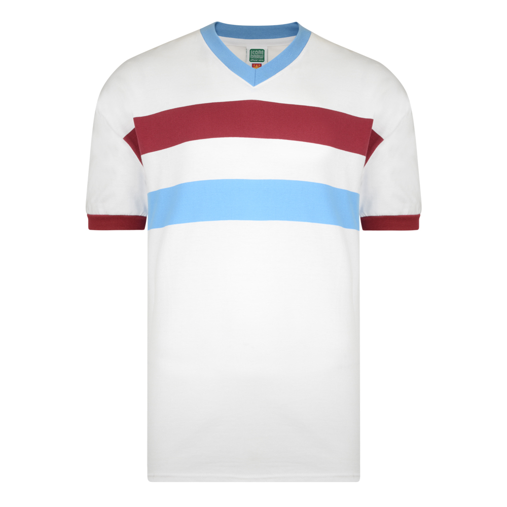 West Ham United 1958 Away Retro Football Shirt 949743e5d