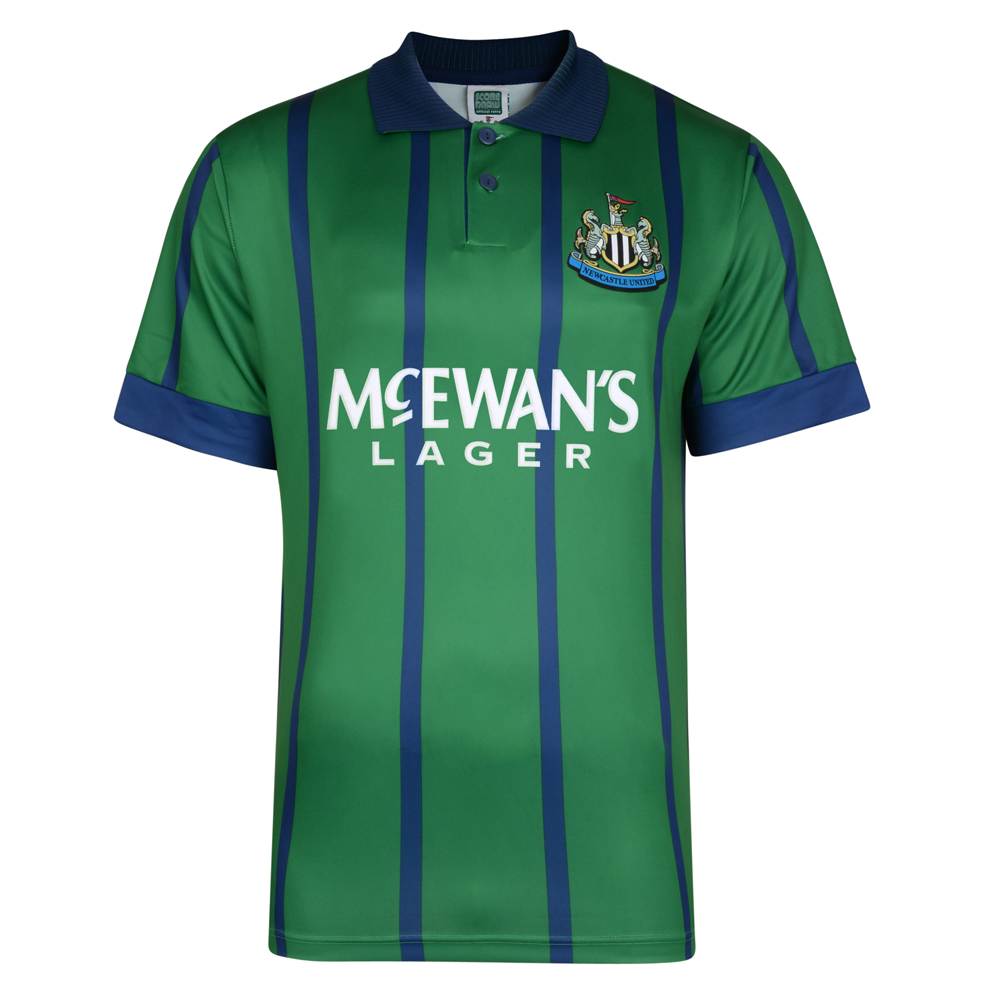 3578016fb Newcastle United 1995 Away Retro Football Shirt. Loading zoom. Newcastle  United 1995 Away ...