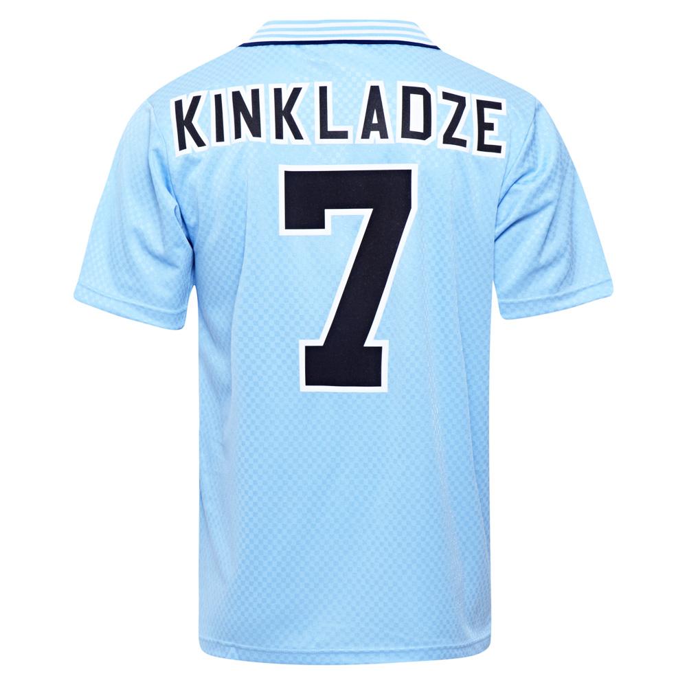 be061da7a27 Manchester City 1996 No7 Kinkladze shirt | Manchester City Retro ...