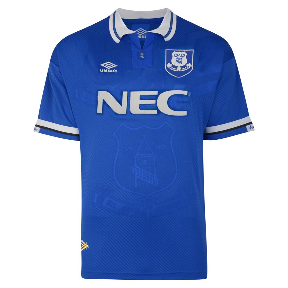 Everton 1994 Umbro Shirt Everton Retro Jersey Score Draw