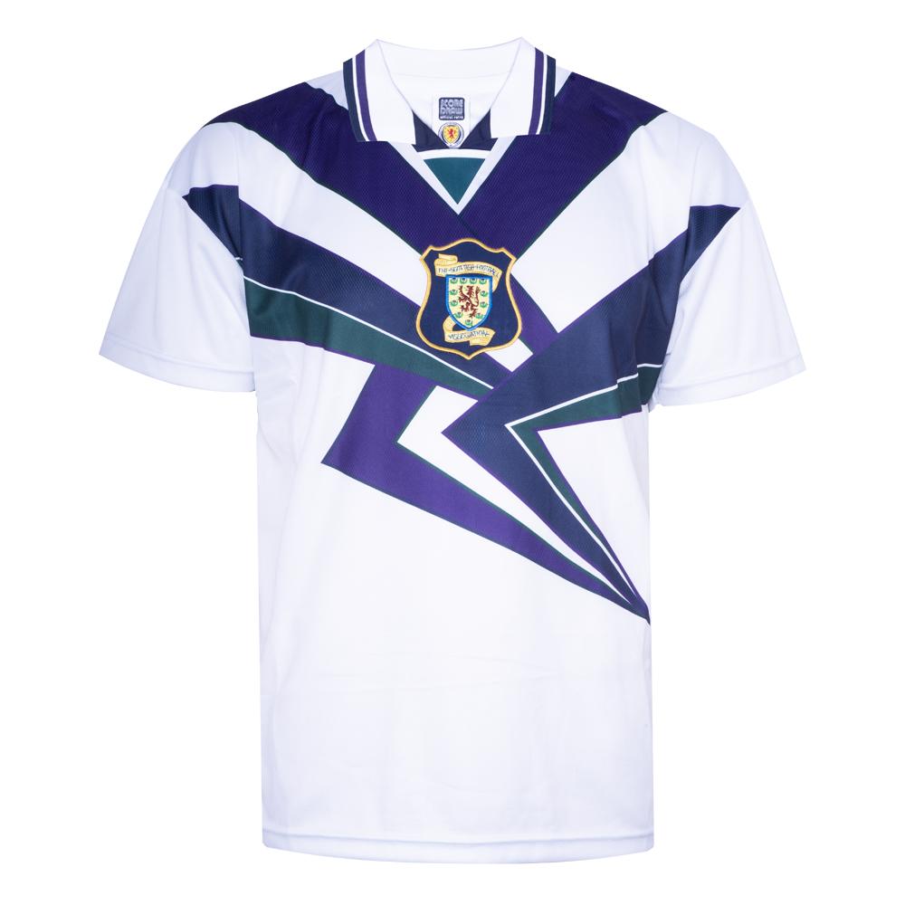 ca0e4848987 Scotland 1996 Away Retro Football Shirt. Loading zoom