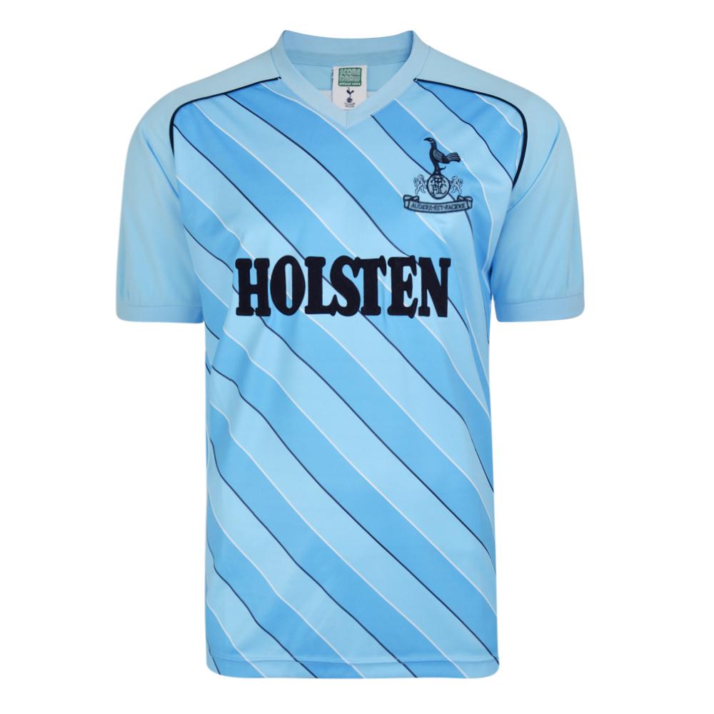 e4ec42d9b41b81 Tottenham Hotspur 1986 Away Retro Football Shirt. Loading zoom