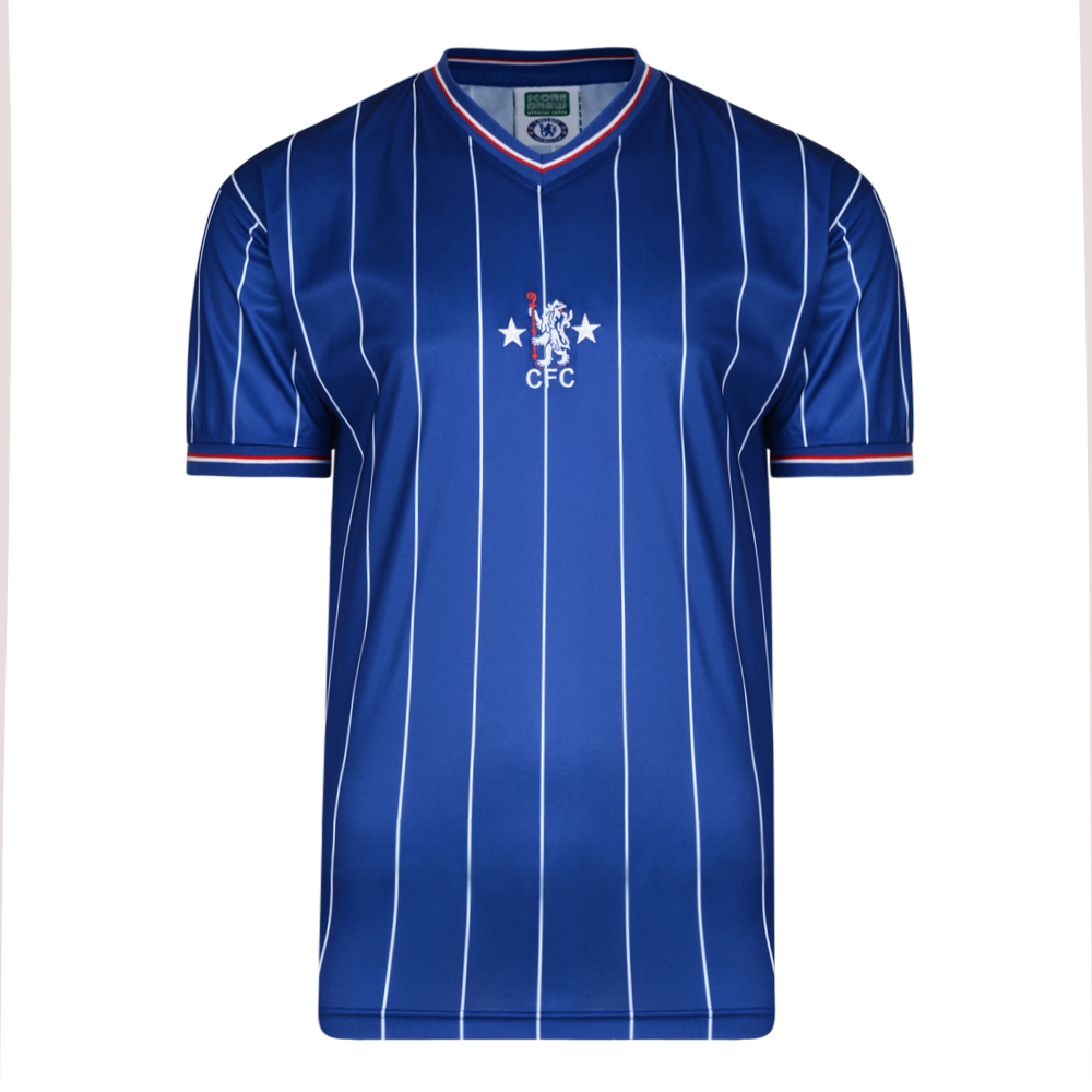 quality design 175dd 42f46 Chelsea 1982 shirt | Chelsea FC Retro Jersey | Score Draw