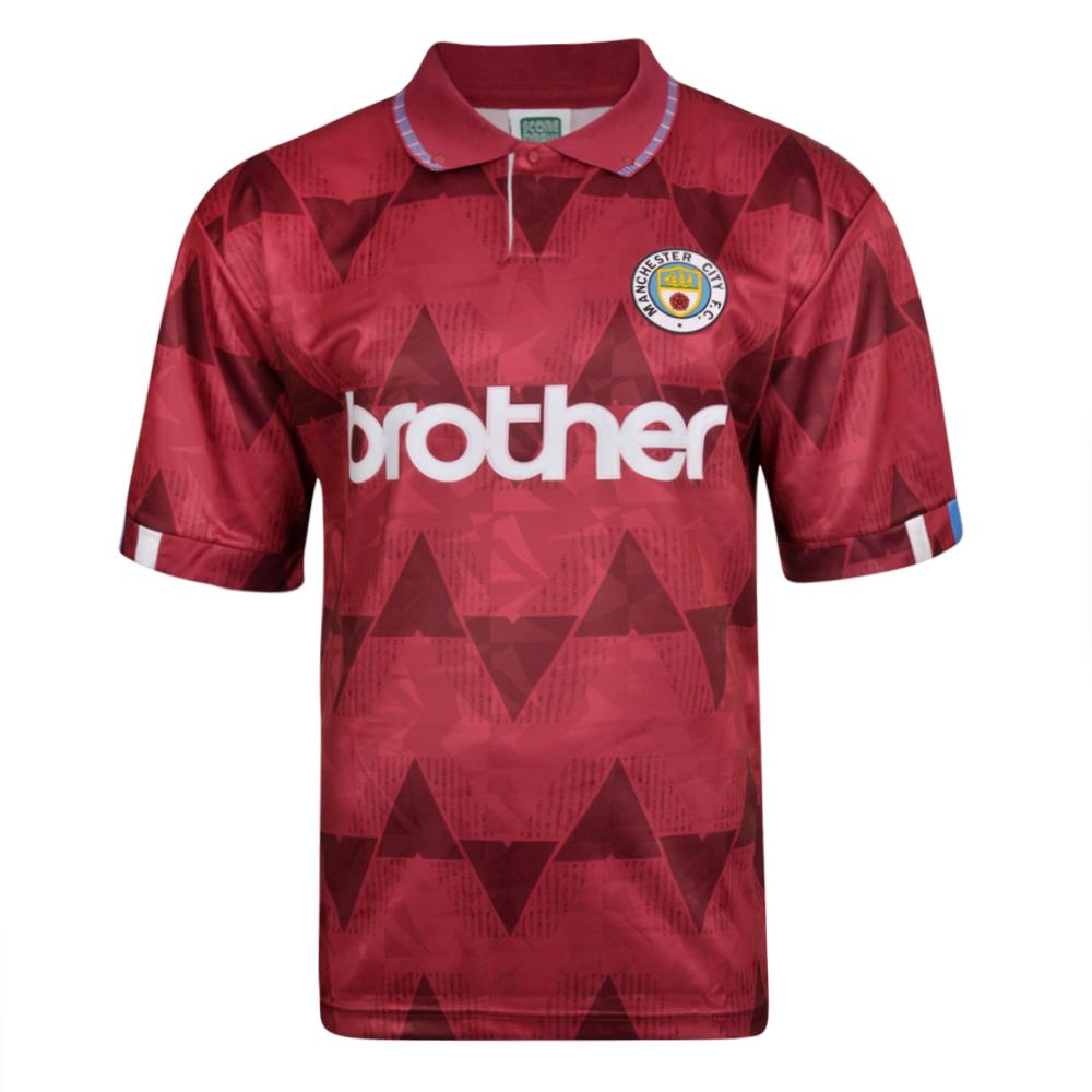 b18d13e9afd Manchester City 1989 Away Shirt | Manchester City Retro Jersey ...