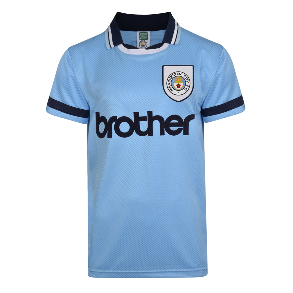 Manchester City 1994 Shirt   Manchester City Retro Jersey