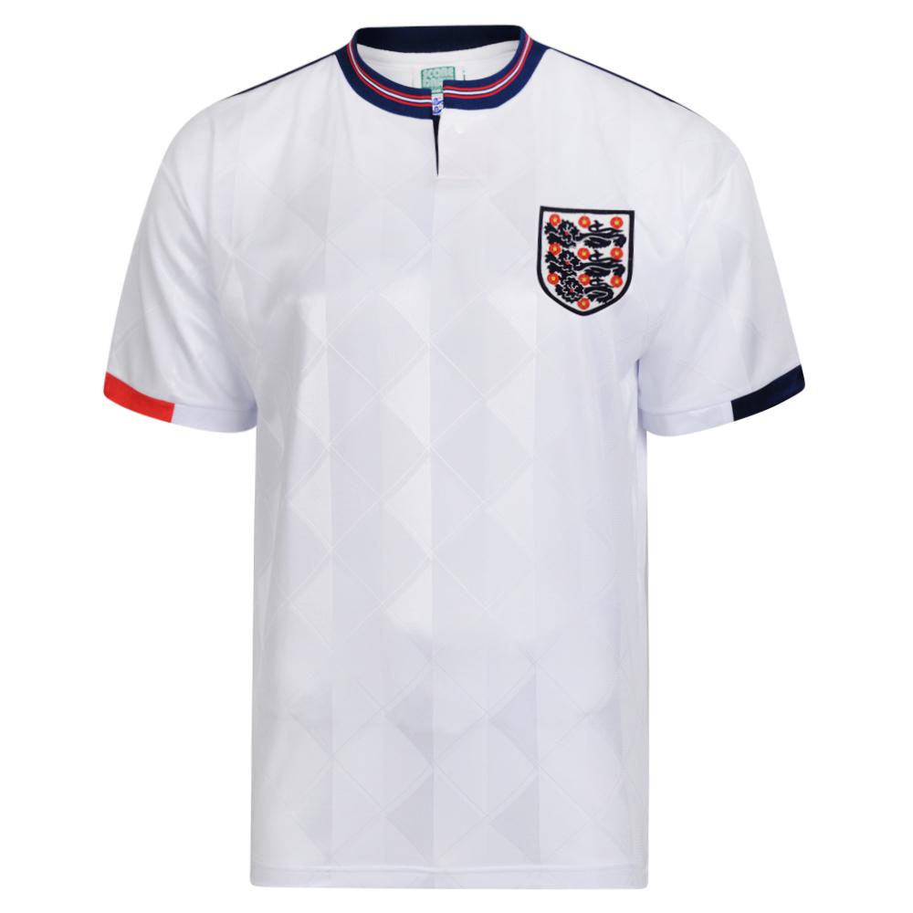 28ea0bc5aef England 1989 Retro Football shirt