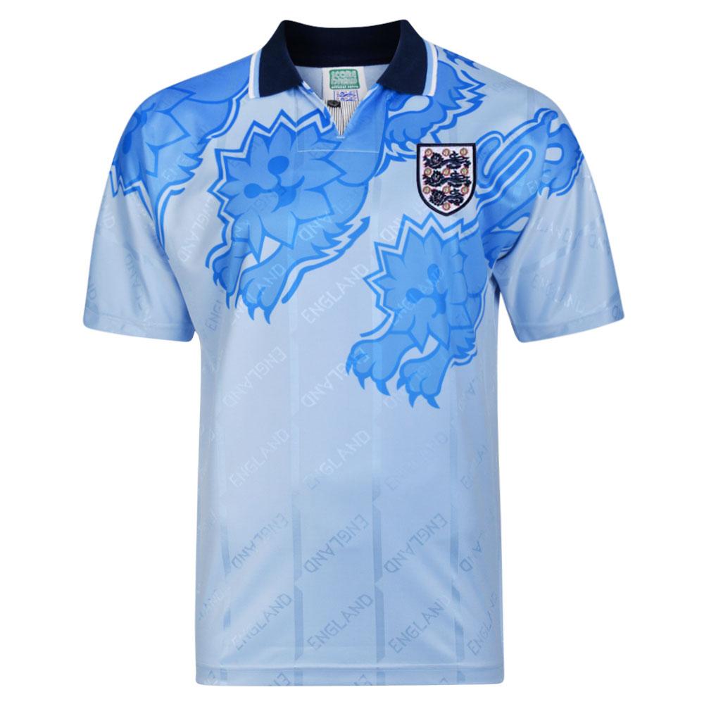 5262a2464 England 1992 Retro Football Third shirt