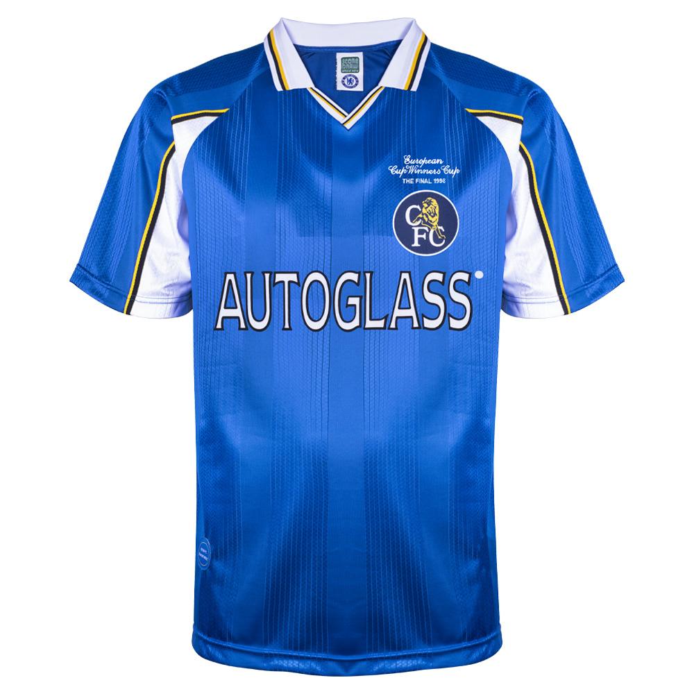 super popular 62b84 47e9b Chelsea 1998 ECWC Final shirt | Chelsea FC Retro Jersey ...