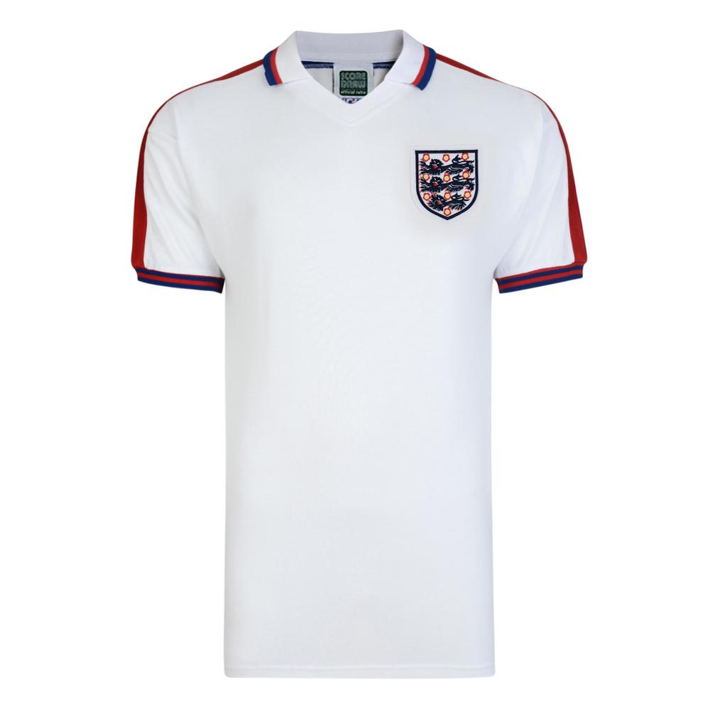 03126f6b1b2 England 1976 shirt   England FC Retro Jersey   Score Draw