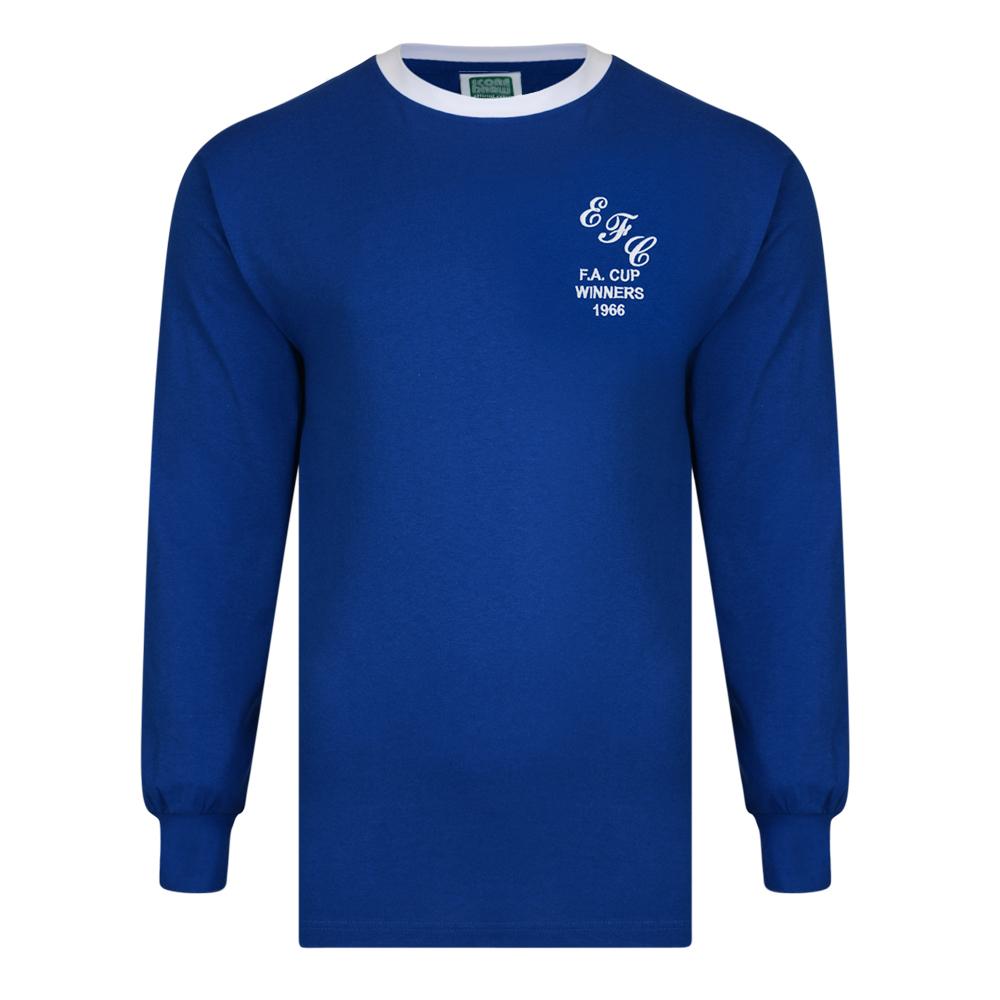 best loved e6d6e ca959 Everton 1966 FA Cup Winners shirt | Everton Retro Jersey ...